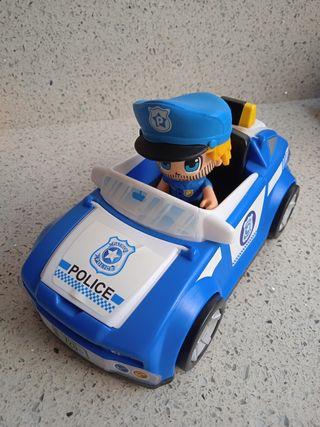 Coche policía Pinypon