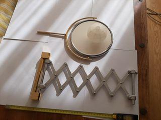 Espejo Baño pared Extensible Doble cara