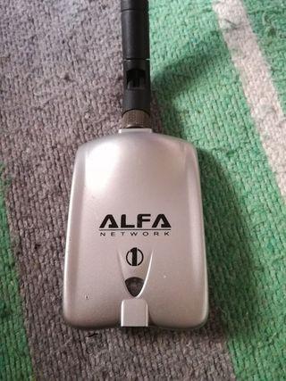 Antena Wifi ALFA ordenador