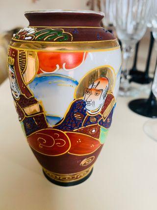 Jarrón porcelana Satsuma de Japón