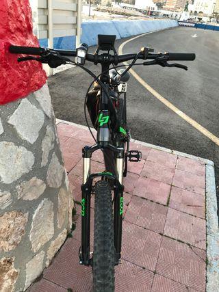 Bicicleta eléctrica de montaña lapierre