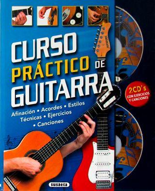 Curso práctico de guitarra. Afinación, acordes...