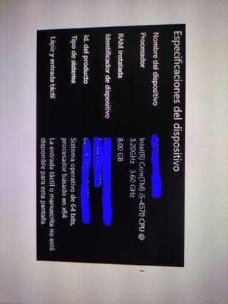 PC i5 4570, GTX 650, 8gb ram