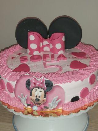 Pastel de Mini mouse