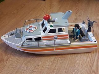Playmobil Barco Sanitario Rescate
