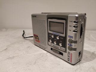 Radio digital de bolsillo Vintage.