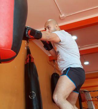 Entrenador boxeo en exterior e interior