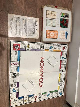Cluedo + Monopoly antiguos