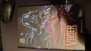 Cómic Star Wars Vader Derribado