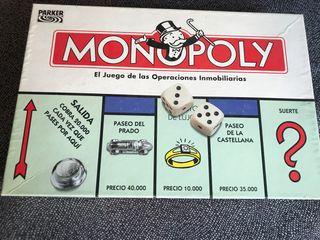 Juego de mesa Monopoly clásico Hasbro