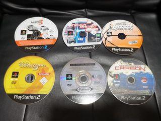 6 juegos originales de Playstation 2 por 10€