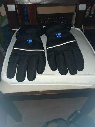 guantes de moto con calefaccion