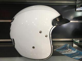 casco jet retro