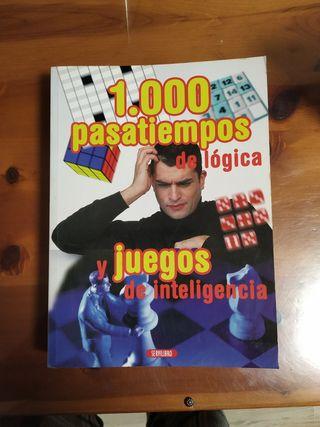 juegos de lógica, más de 1000.