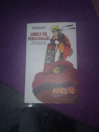 Libro de Personajes, Naruto