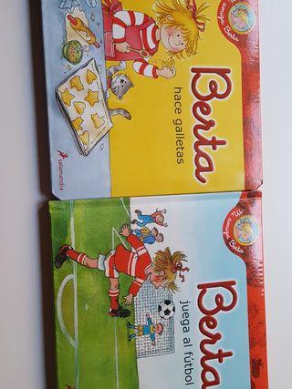 Berta hace galletas; Berta juega al futbol