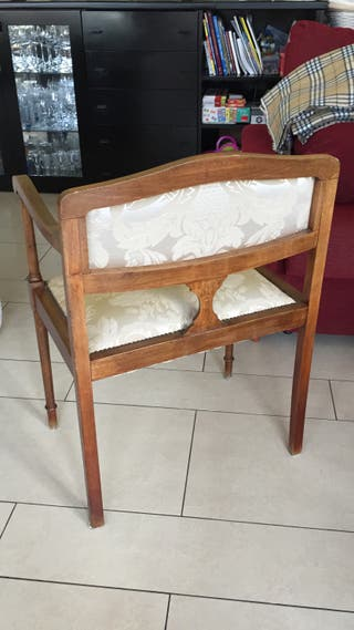 conjunto de dos sillas barrocas