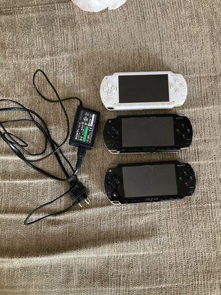 3 PSP CON 1 CARGADOR