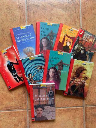 Colección de libros El Barco de Vapor