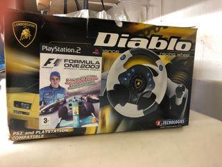 Volante Lamborghini Diablo para consola
