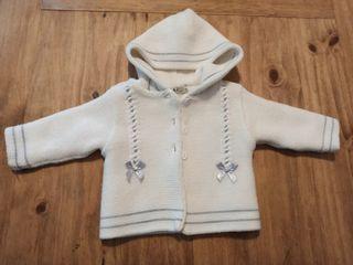 abrigo bebe talla 3m