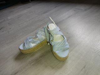 sandalia de doble suela
