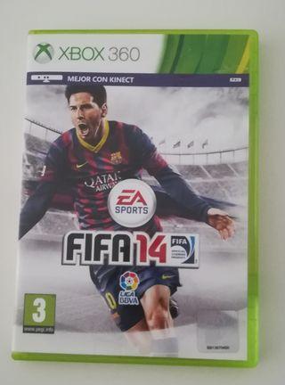 juego Xbox fifa 14