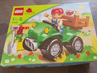 Lego Duplo Tractor y Ambulancia
