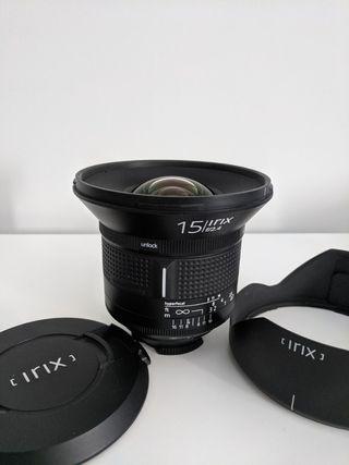 Irix 15mm F2.4 Nikon F + 2 filtros