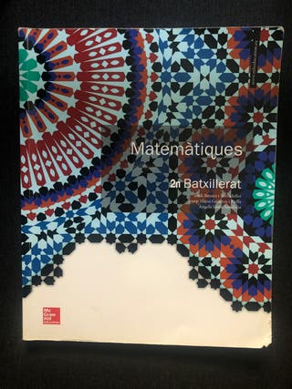Matemáticas 2o bachillerato McGraw Hill