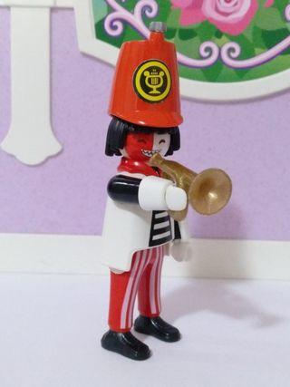 playmobil payaso banda de música trompeta