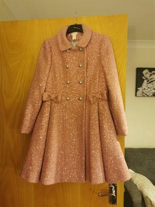 Girls Monsoon coat age 11-12