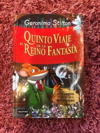 Libro saga Geronimo Stilton
