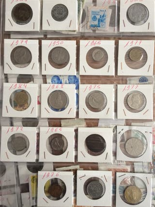 Monedas, Billetes, Sellos Antiguos
