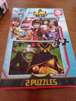 2 puzzles de zak storm