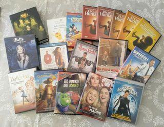 Lote de películas y series. DVD Y Blu-ray.