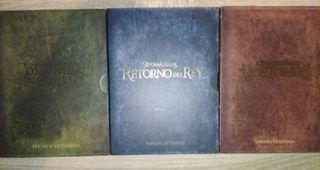 trilogía el señor de los anillos versión extendida