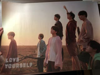 poster oficial bts