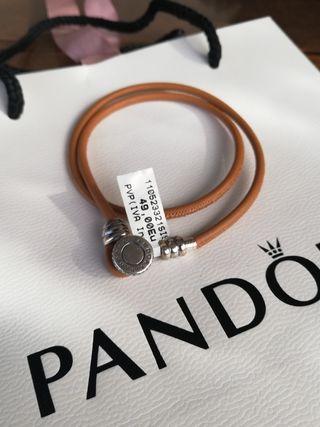 Pulsera de cuero Pandora