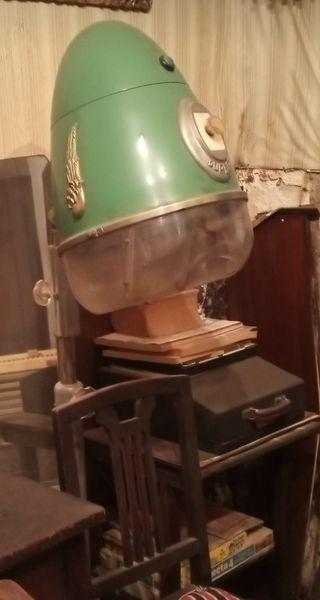 secador peluquería vintage