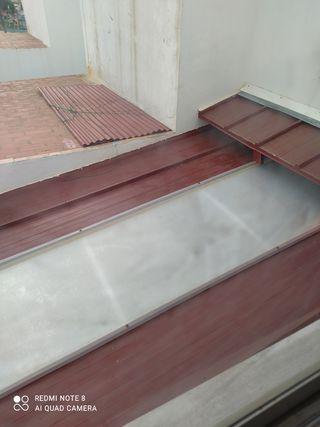 chapa galvanizada pintada