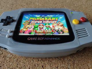 Game Boy Advance Retroiluminada + 2 Juegos