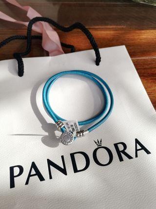 Pulsera cuero Pandora