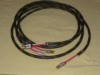 2 Cables Altavoces de 2,45m. de Alta calidad HIFI