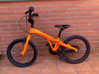 "Bicicleta BMX Monty 104 naranja 18"""