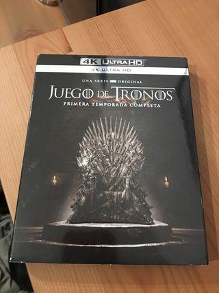 Juego de tronos 4K Ultra HD