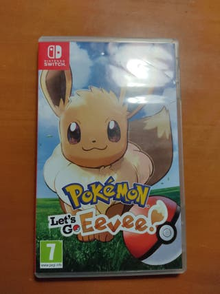 Pokemon let's go Eevee (Nintendo Switch)