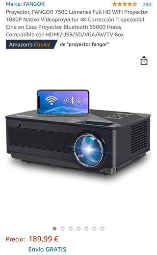 Proyector HD1080P FANGOR