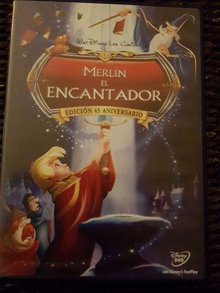 DVD Película Original MERLÍN EL ENCANTADOR