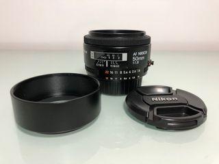 Nikon 50 1.8